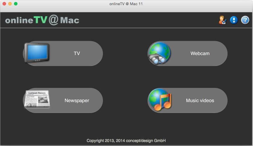Онлайн тв на mac